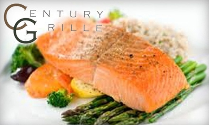 Century Grille - West Liberty: $7 for $15 Worth of American Cuisine at Century Grille in West Liberty