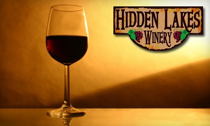 Hidden Lakes Winery - South Columbus: $8 for a Wine Tasting for Two at Hidden Lakes Winery ($16 Value)