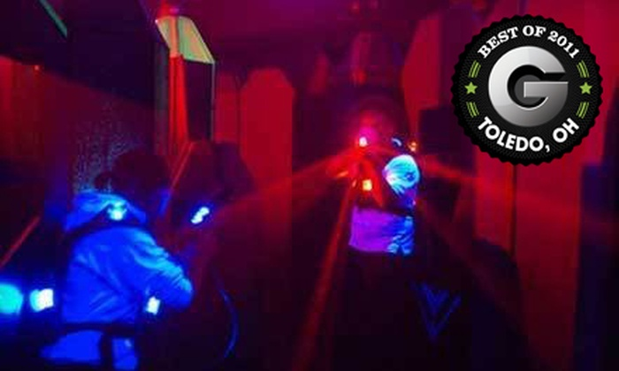 Q-Zar - Sylvania: $9 for Three Games of Laser Tag at Q-Zar (Up to $19 Value). Two Options Available.