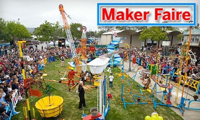 World Maker Faire Festival - Flushing Meadows Corona Park: Half Off Ticket to World Maker Faire Festival at the New York Hall of Science on Sept. 25–26 (Up to $50 Value). Four Types of Admission Available.