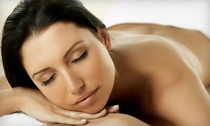 Gem Day Spa - Huntington Beach: $49 for Anti-Aging Microcurrent Facial ($125 Value) or $75 for Full-Body Detox with Microcurrent Tightening ($165 Value) at Gem Day Spa