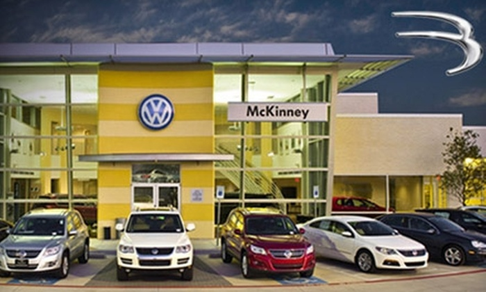 Boardwalk Auto Group Volkswagen - Multiple Locations: $49 for a Full Synthetic Oil Change, Filter Change, Tire Rotation, and Brake Inspection at Boardwalk Auto Group Volkswagen ($99.45 Value)