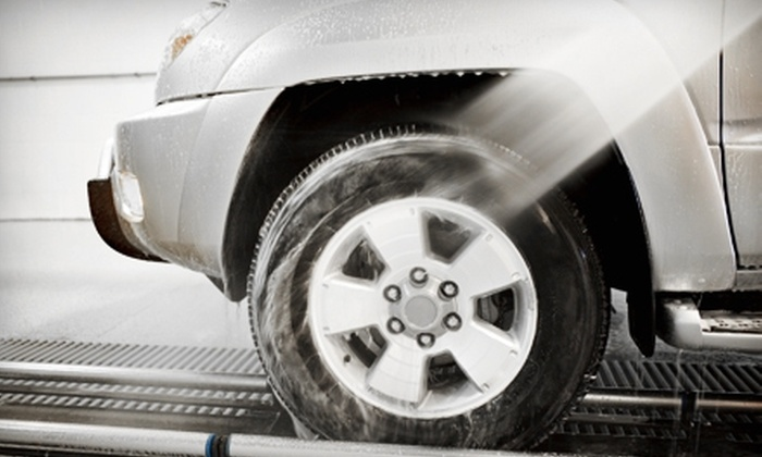 Shrewsbury Car Wash - Shrewsbury: $12 for Two Full-Service Washes ($27.70 Value) or $65 for an Exterior Detail (Up to $139.10 Value) at Shrewsbury Car Wash