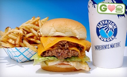 $12 Groupon to Elevation Burger - Elevation Burger in Moorestown