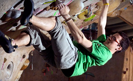 1-Day Pass (a $12 value) & Equipment Rental (a $10 value; a $22 total value) - Boulders Climbing Gym in Madison