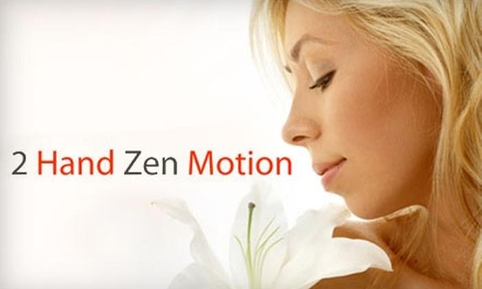 2 Hand Zen Motion - Platte City: $30 for a Bellanina Facelift Massage at 2 Hand Zen Motion in Platte City