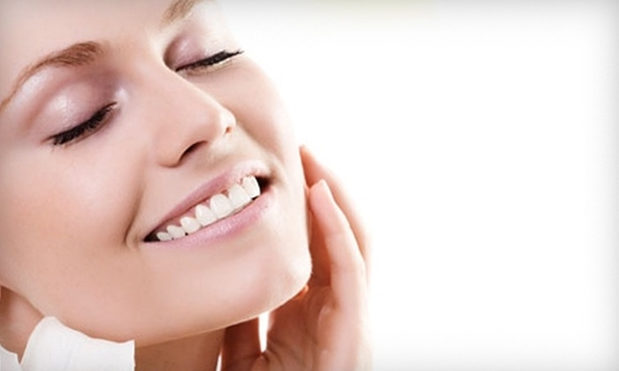 La Salon and Spa - Millburn: $42 for 60-Minute Hot-Stone Massage ($85 Value) or $42 for Collagen Facial ($95 Value) at La Salon and Spa in Millburn
