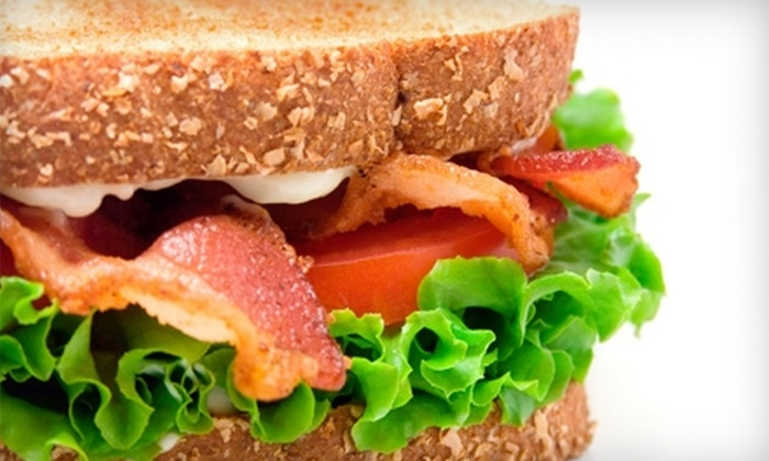The Simple Sandwich - Downtown West: $5 for $10 Worth of Café Fare at The Simple Sandwich