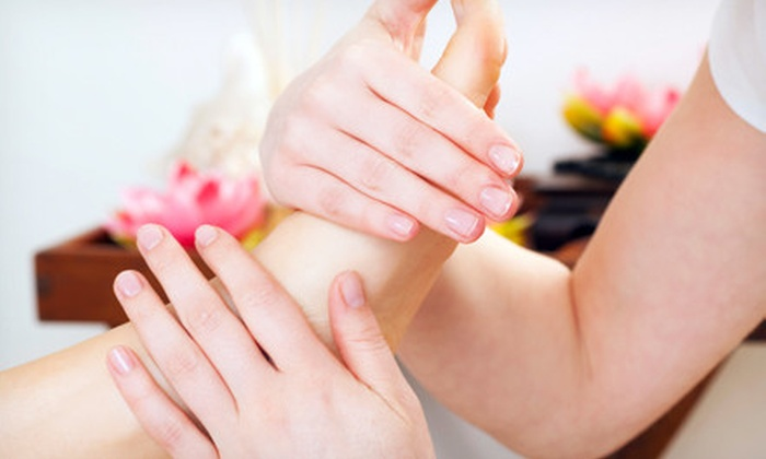 Massage Unlimited - Pelham: Baby-Massage Workshop or Massage and Hot Chocolate Foot Treatment at Massage Unlimited in Pelham (Up to 72% Off)