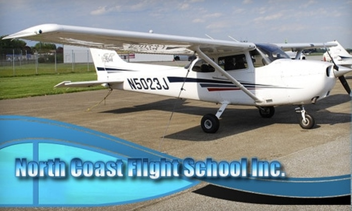 North Coast Flight School, Inc - Millcreek: $35 for a One-Hour Introductory Ground School Course and More at North Coast Flight School, Inc.