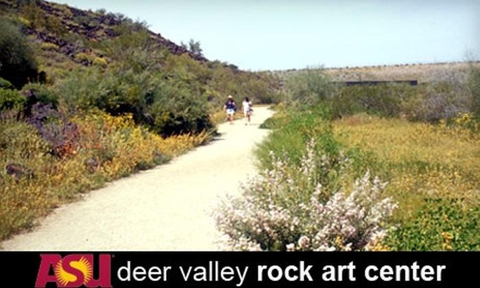 Deer Valley Rock Art Center - Deer Valley: $7 for Admission for Two at Deer Valley Rock Art Center (Up to $14 Value)