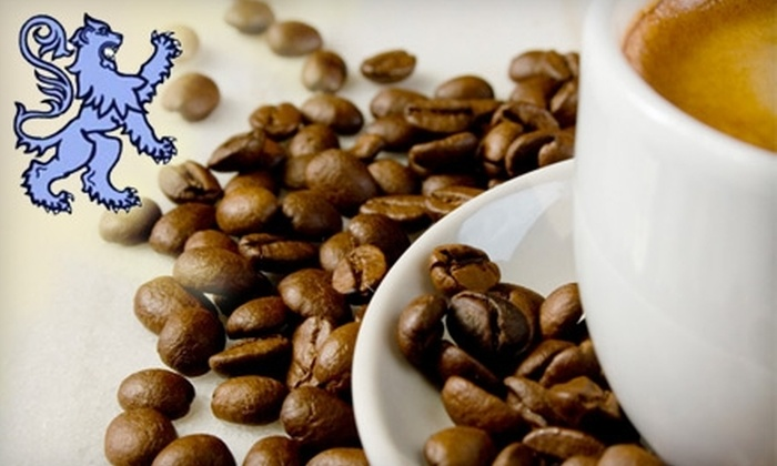 Blue Lion Coffee - Pierceton: $10 for $20 Worth of Coffee Beans at Blue Lion Coffee