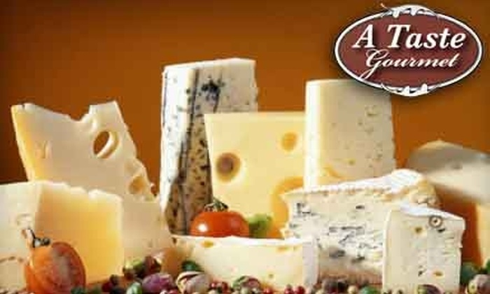 A Taste Gourmet - Junction City: 10 for $20 Worth of Gourmet Deli Fare and 10% Off Groceries at A Taste Gourmet