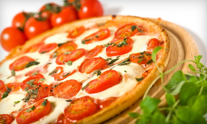 Primo Italiano - Sunset Hills: $24 for an Italian Meal with Two Salads and Two Gourmet Pizzas at Primo Italiano (Up to $49.80 Value)