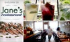 Jane's - Bucktown: $15 for $30 Worth of Homemade Fare and Drinks at Jane's Restaurant ($15 for $40 if Redeemed Monday–Thursday)