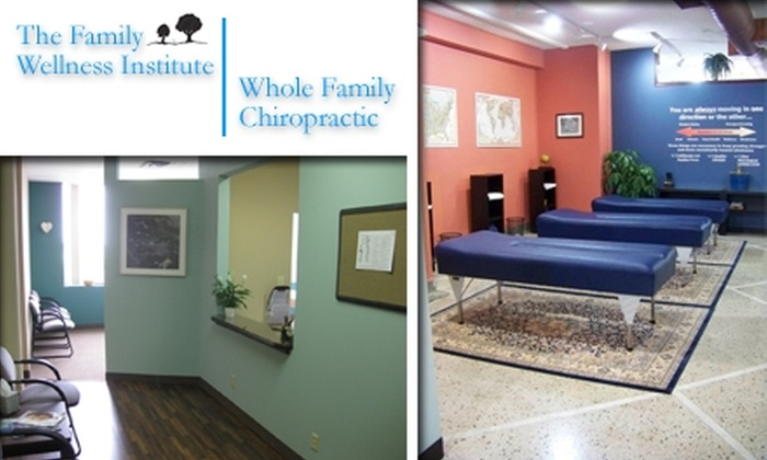 The Family Wellness Institute & Whole Family Chiropractic  - Highland: $37 for Exam, Consultation, and Adjustment from Whole Family Chiropractic (St. Paul) or Family Wellness Institute (Minneapolis)