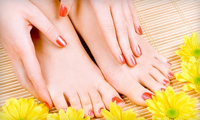Johnson Nail and Spa - South Central Omaha: $35 for a Luxury Mani-Pedi at Johnson Nail and Spa ($70 Value)
