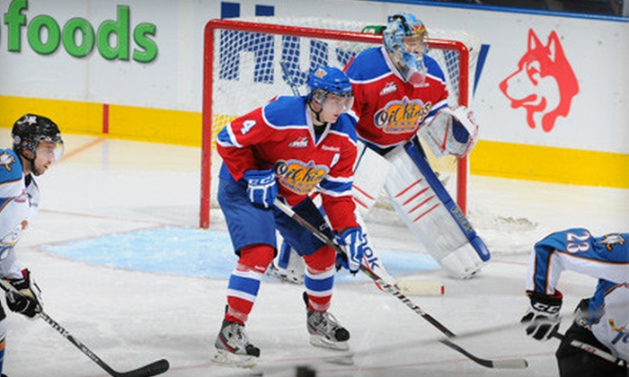 Edmonton Oil Kings - Montrose: Two Tickets to See the Edmonton Oil Kings at Rexall Place on December 6 at 7 p.m. (Up to $45.50 Value)