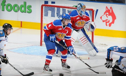 Edmonton Oil Kings vs. Calgary Hitmen at Rexall Place on Tues., Dec. 6 at 7PM: Side Sections 101-102, 104, 134, or 136 - Edmonton Oil Kings in Edmonton