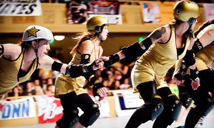 B.ay A.rea D.erby Girls - Richmond: $15 for Two Tickets to B.ay A.rea D.erby Girls Roller-Derby Bout on Saturday, May 21 at 8 p.m. (Up to $30 Value)