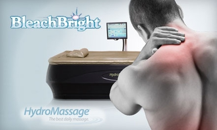Bleach Bright of Arkansas - North Little Rock: $30 for 30 Days of Unlimited HydroMassages or $7 for One 20-Minute HydroMassage at Bleach Bright of Arkansas