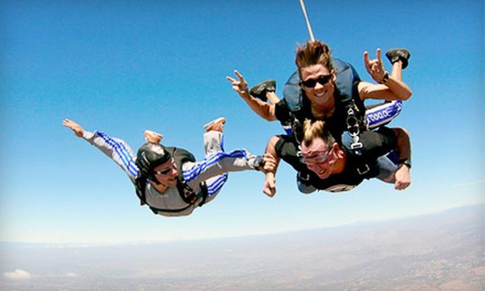 Skydive San Diego - San Diego: $125 for 10,000-Foot Tandem Skydive Jump from Skydive San Diego in Jamul (Up to $210 Value)