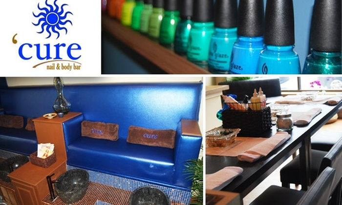 Cure Nail and Body Bar - Castleberry Hill: $19 Classic Mani-Pedi at Cure Nail and Body Bar ($40 Value)