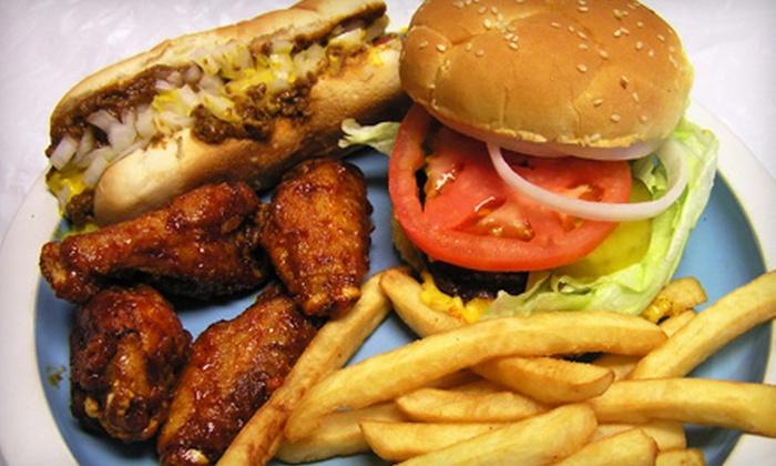 Motor City Coney Island - Atlanta: American-Fare Meal for Two or Four at Motor City Coney Island in Stone Mountain (Up to 62% Off)
