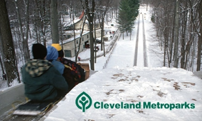 Cleveland Metroparks - Cleveland: $4 for All-Day Tobogganing Pass at Cleveland Metroparks (Up to $8 Value)