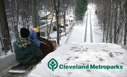 4 For All Day Tobogganing Pass Cleveland Metroparks