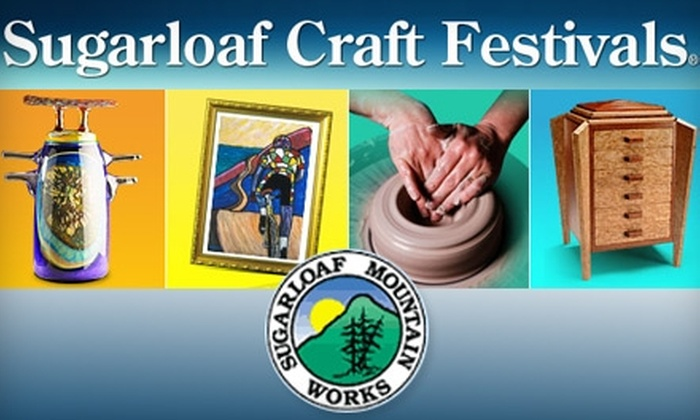 Sugarloaf Crafts Festival - Lutherville - Timonium: $4 for One Ticket to Sugarloaf Crafts Festival ($7 Value)