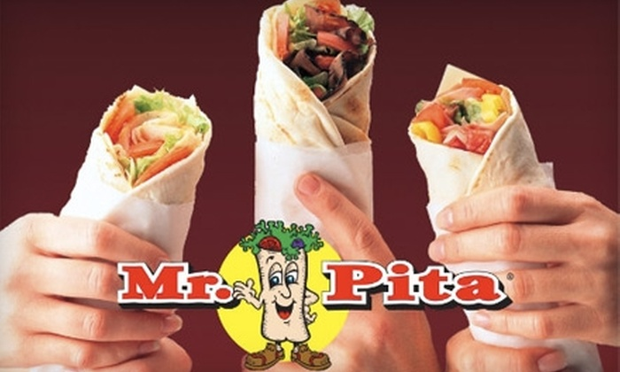 Mr. Pita - Amherst: $4 for $8 Worth of Rolled Sandwiches, Drinks, and More at Mr. Pita in Williamsville