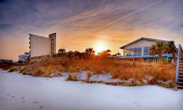The Oceanfront Litchfield Inn - Pawleys Island: One-Night Stay for Two in an Oceanfront Tower or Dunes Room at The Oceanfront Litchfield Inn in South Carolina