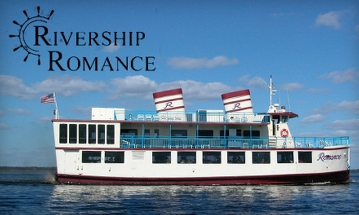 """Rivership Romance - Sanford: $26 for a Three-Hour Luncheon Cruise Aboard the """"Rivership Romance"""" in Sanford ($43.34 Value)"""