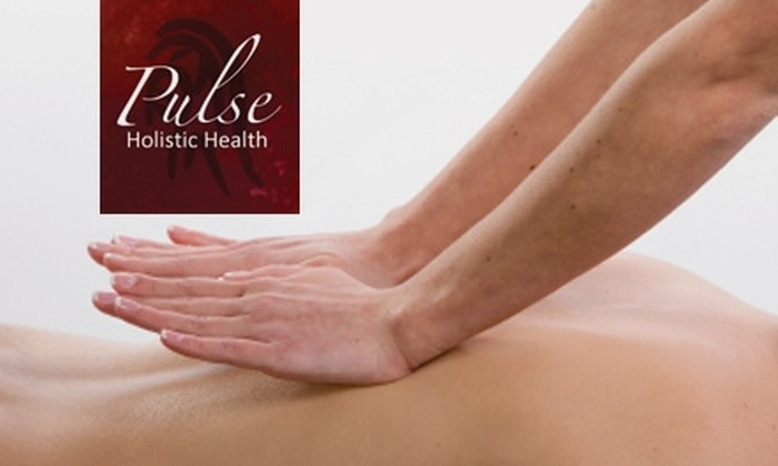 Pulse Holistic Health - North End: $39 for a 90-Minute Amma Therapy Massage at Pulse Holistic Health ($80 Value)