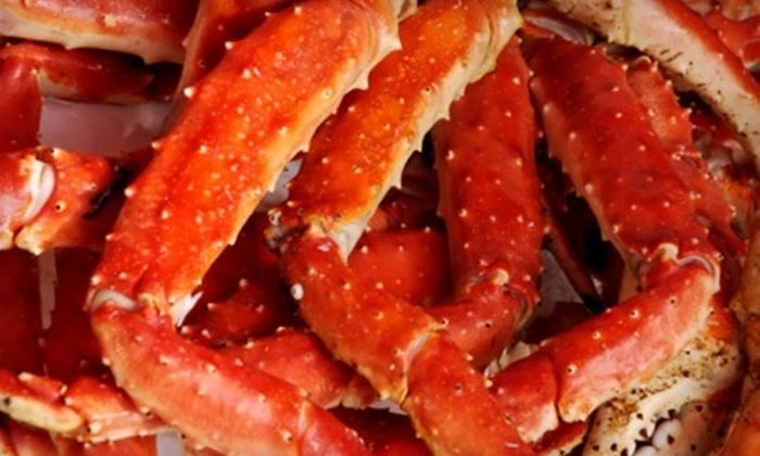 Crab Creek - Christiansburg: Dinner for Two with Appetizer and Entrees or $25 Worth of Seafood Fare at Crab Creek in Christianburg