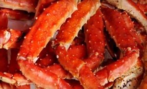 Crab Creek: Seafood Dinner for Two or Four at Crab Creek (57% Off)