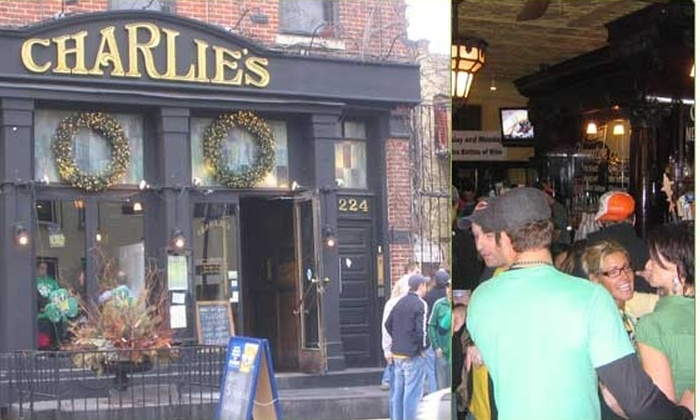 Charlie's Ale House - DePaul: $15 for a $35 Groupon to Charlie's On Webster
