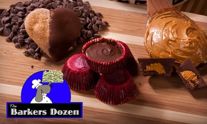 The Barkers Dozen: $10 for $20 Worth of Organic Dog Treats from The Barkers Dozen Online Store