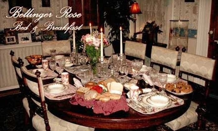 Bellinger Rose Bed & Breakfast - Herkimer: $115 for One-Night Stay, Paraffin Dip, and 30-Minute Massage at Bellinger Rose Bed & Breakfast in Herkimer (Up to $239 Value)
