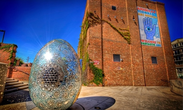 American Visionary Art Museum - Federal Hill-Montgomery: $7 for One Admission to the American Visionary Art Museum  (Up to $15.95 Value)