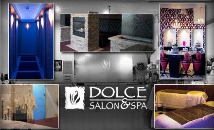 half off at dolce salon spa dolce salon spa groupon