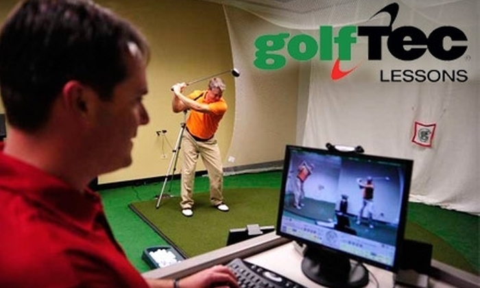 GolfTec - Multiple Locations: $39 for 30-Minute Swing Evaluation ($99 Value) or $45 for Personal Golf-Club Fitting ($99 Value) at GolfTec