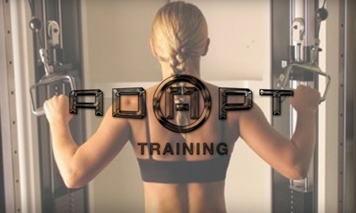 ADAPT Training - Raleigh West: $40 for Personal Training, a Month of Unlimited Classes, and a Custom Workout Routine at Adapt Training ($255 Value)