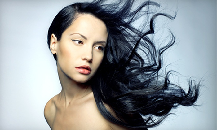 Tantra Hair Salon & Day Spa - King of Prussia: Haircut, Blow-dry, and Deep Conditioning Treatment With or Without Partial or Full Highlights at Tantra Hair Salon & Day Spa in King of Prussia (Up to 67% Off). Three Options Available.
