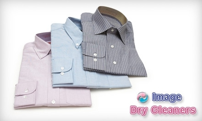 Image Dry Cleaners - Multiple Locations: $20 for $45 Worth of Dry Cleaning and Laundry Services from Image Dry Cleaners