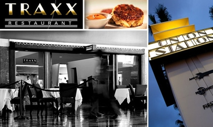 Traxx Restaurant - Chinatown: $25 for $50 Worth of Food and Drink at Traxx Restaurant