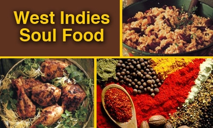 West Indies Soul Food - Phillips: $5 for $10 Worth of Island Cuisine at West Indies Soul Food