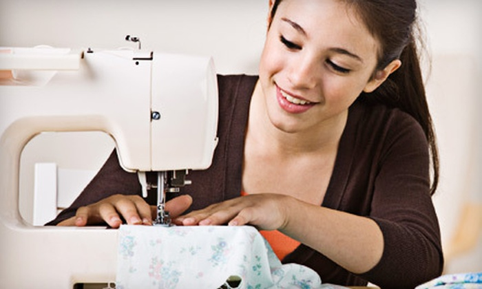 Creative Sewing Centre - Trillium Industrial Park: Beginner's Sewing Class with Kit or Private Sewing Lesson at Creative Sewing Centre (Half Off)