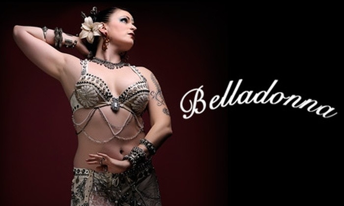 Belladonna Bohemian Bellydance - Multiple Locations: $20 for Three Bohemian Belly Dance Classes ($60 value)